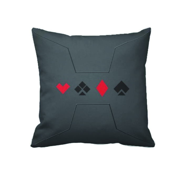 24''x24'' Stealth Deck Theme Throw Pillow