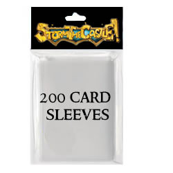 $11 - 200 clear card sleeves to protect your unholy decks