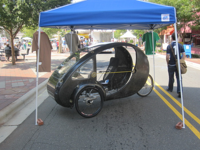 Carbon lite ELF on display at Durham Centerfest