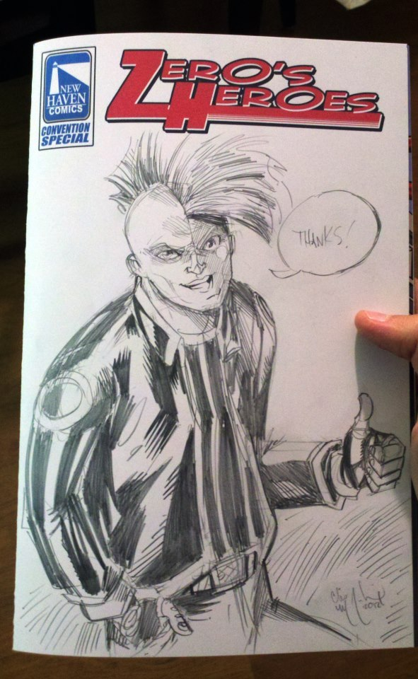 Custom sketch by Chris McJunkin!