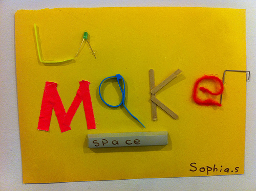 LA Makerspace Logo by Sophia