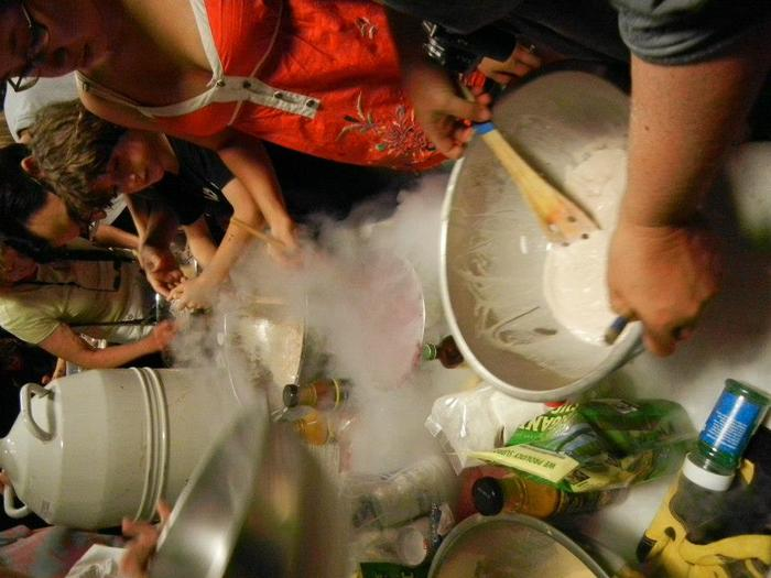 Liquid Nitrogen Ice Cream Social