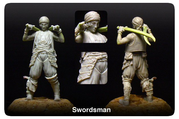 The Swordsman- A deadly street fighter, fast as a viper. He fights for fame and glory, a little money doesn't hurt either.