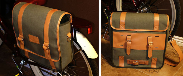 "The ""Brussels"" Large Canvas Messenger"