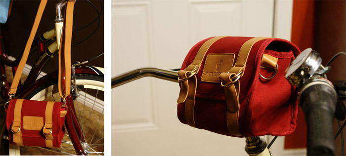 "The ""Amsterdam"" Handlebar Bag"