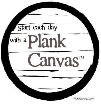 Plank Canvas magnet, mini, t-shirt and sticker design.