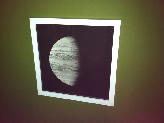 """Jupiter,"" framed in white (December, 2012)"