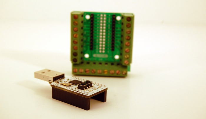 Early KADE Arcade PCB prototype (older design)