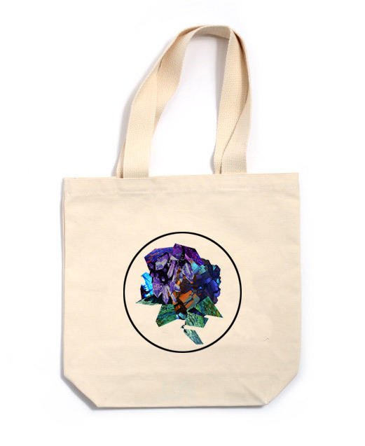 Canvas Tote Bag with original artwork created for the Fall 2013 Collection.