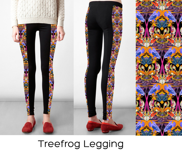# 2 Legging Option: Treefrog (S,M, L)