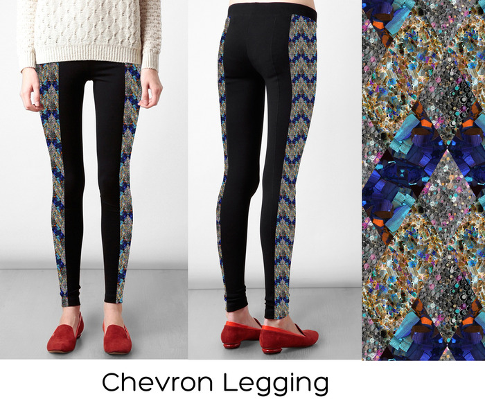 # 3 Legging Option: Chevron (S,M, L)