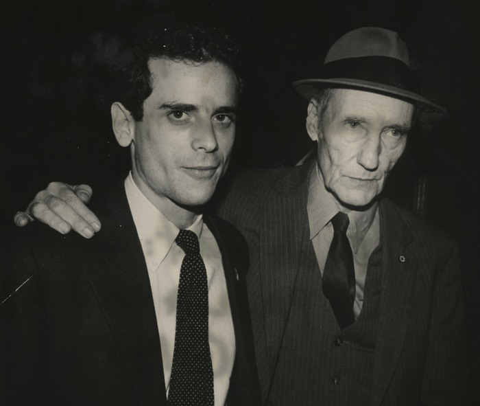 Brookner and Burroughs, NYFF 1983 (c) Paula Court