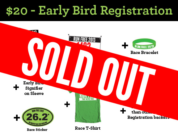 $20 - Early Bird Registration - SOLD OUT!