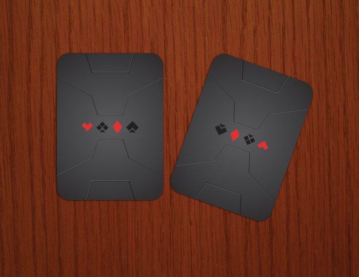 Double-Back Card