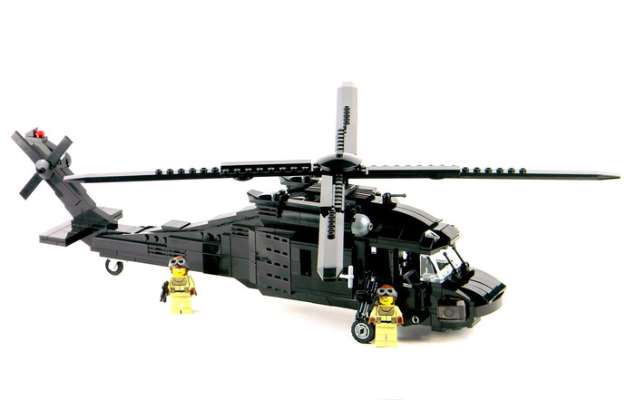 The BattleBrick Black Hawk