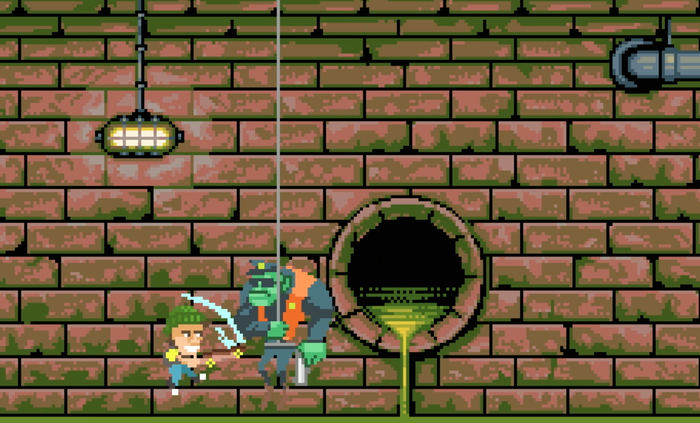 In-Game Screenshot of Fighting