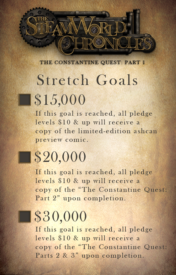 STRETCH GOALS REVEALED