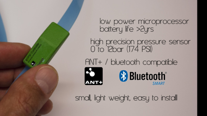 main features of the Bike Tire Pressure Sensor!