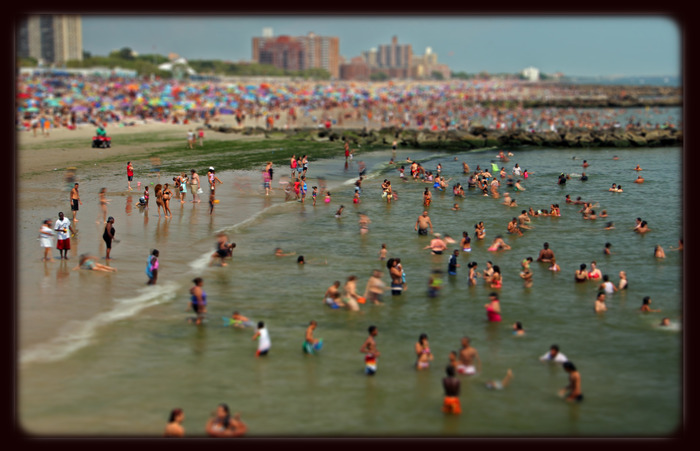 Coney Island, July 2011