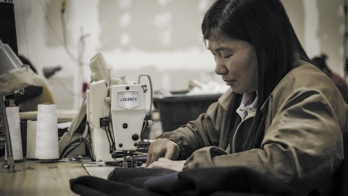 With a rich history of apparel production, ThreadLab kits are produced locally in San Francisco.