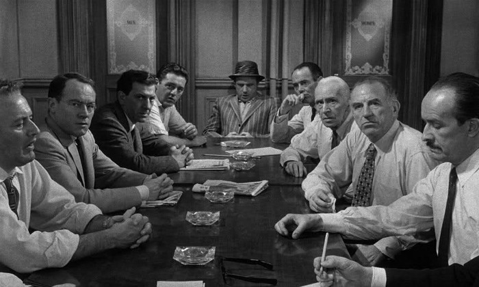 12 Angry Men - Ensemble Cast, One Location, Pretty Amazing Film.......  And Below this is the Video of Our Official Cast & Crew Read-Through!!!