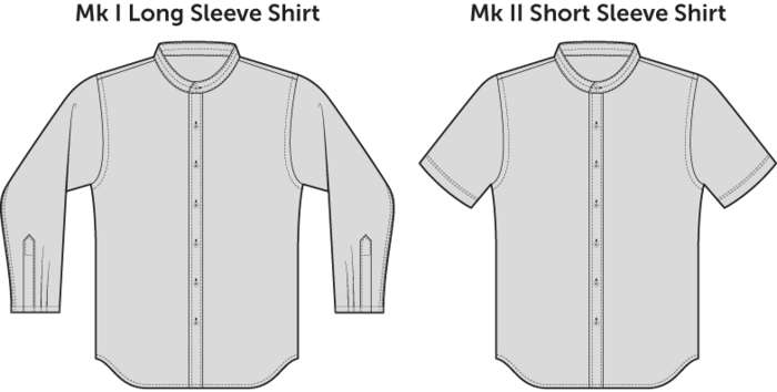 Choose between the MK I Long Sleeve or the MK II Short Sleeve. Either one is a great choice!