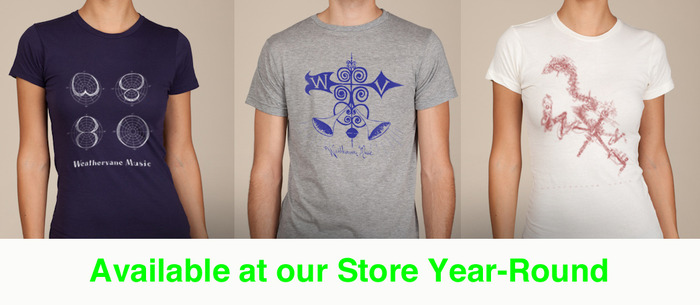 T-Shirts are available year-round at Weathervane's online store.