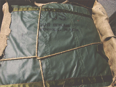 From repurposed parachutes, canvas tents, and Gore-Tex sleeping bags, we make sure your bag is rich with history.