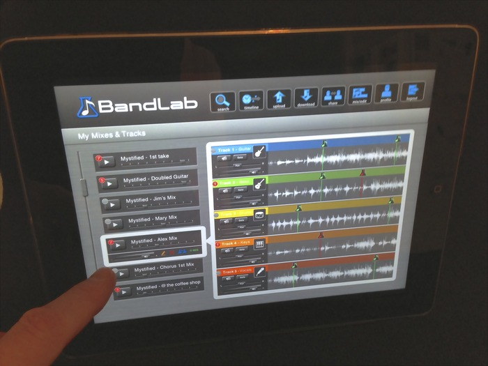 Keep in touch, with BandLab