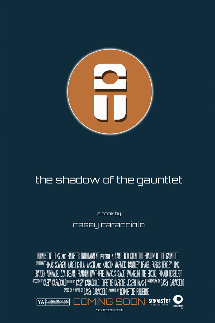 The Shadow of the Gauntlet movie poster print