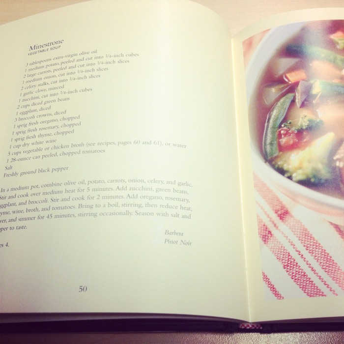 Inside of Cookbook