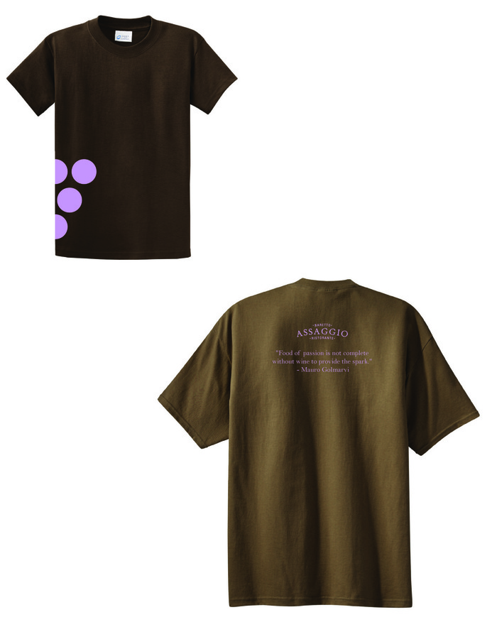 Assaggio Grapes T-shirt