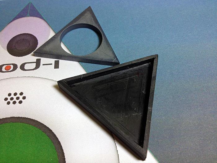 Triangular case parts of God-i