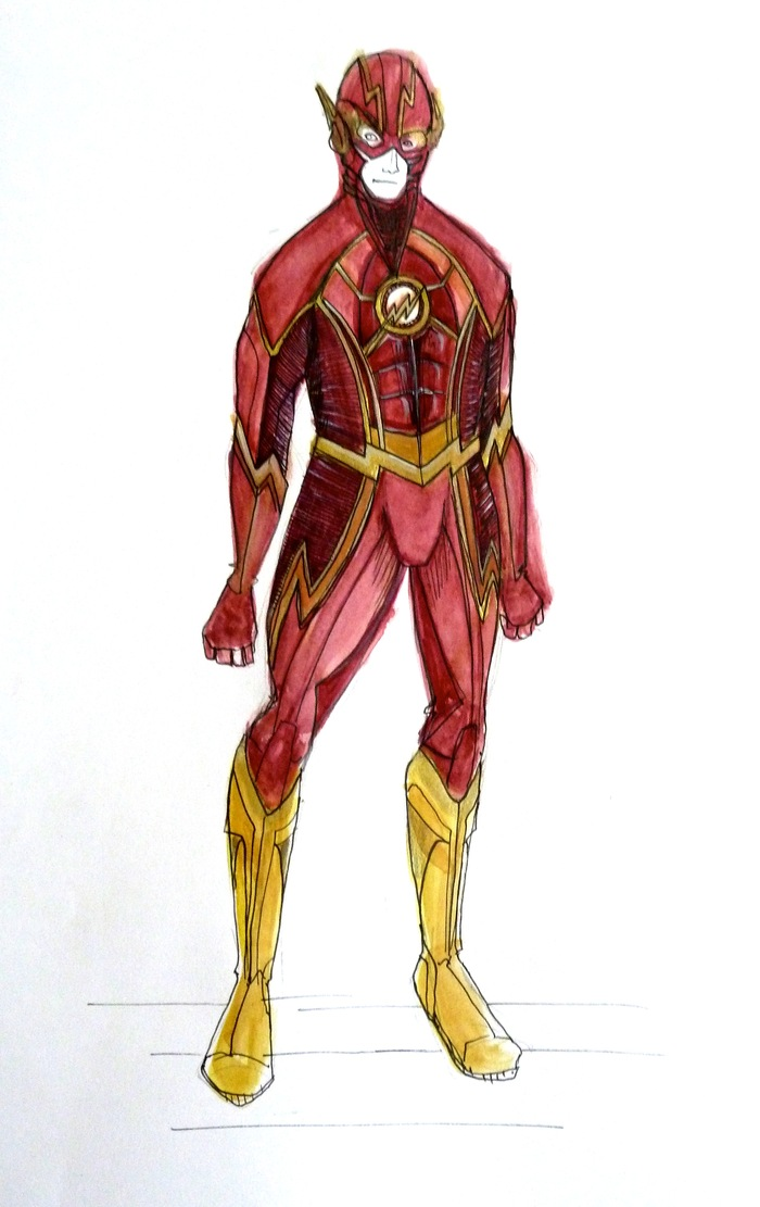 Flash costume concept