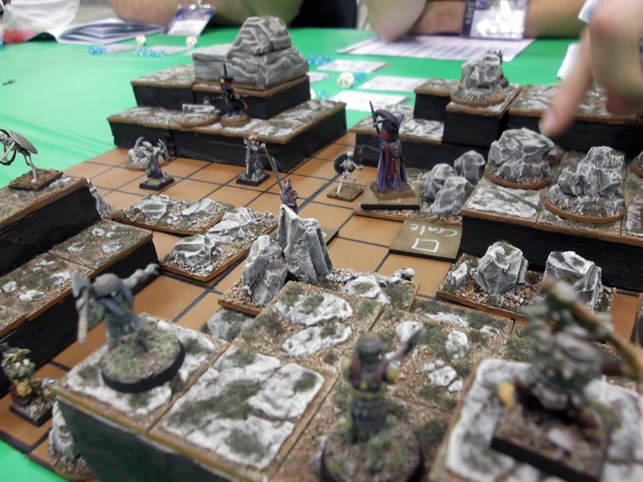Collision being played at Gen Con 2012