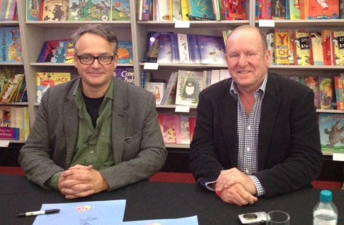 Charlie Higson and Ian Livingstone