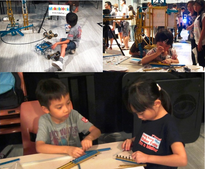 Makeblock in HK mini Makerfaire