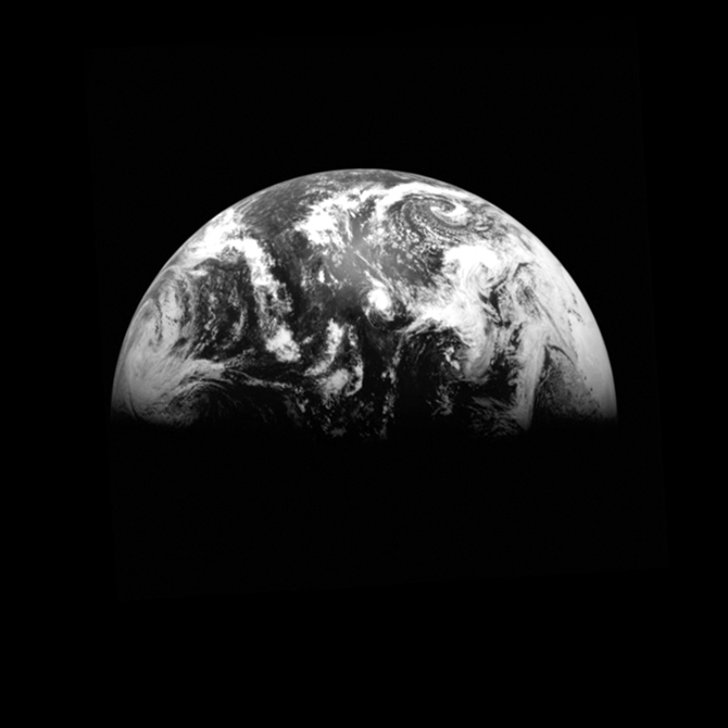 "Source photo for ""Earth in Shadow"""