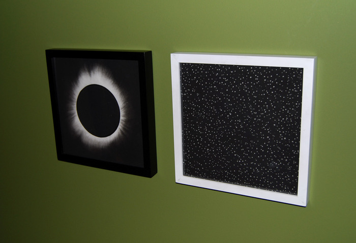 """Solar Eclipse,"" and ""Starry Night,"" (December, 2012)"