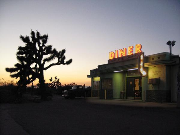 Diner in the Desert