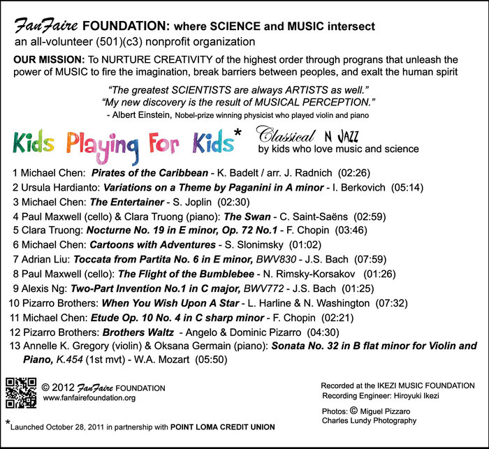 The CD tracks: Great MUSIC and a lot of FUN!