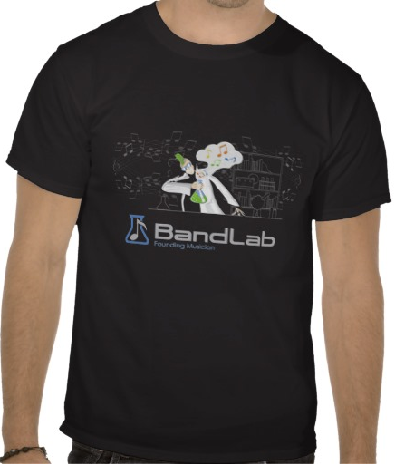 The exclusive BandLab Founding Musician t-shirt.