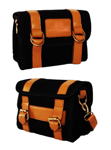 "The ""Amsterdam"" Handlebar Bag in Black"