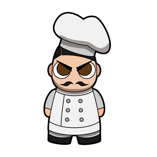 Master Chef, the game's protagonist