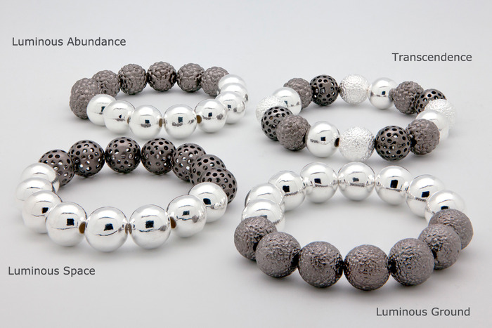 Gorgeous Bracelets in 4 Designs