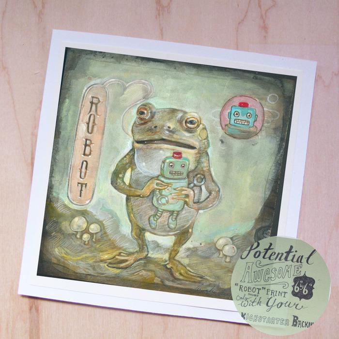 """Robot"" print"