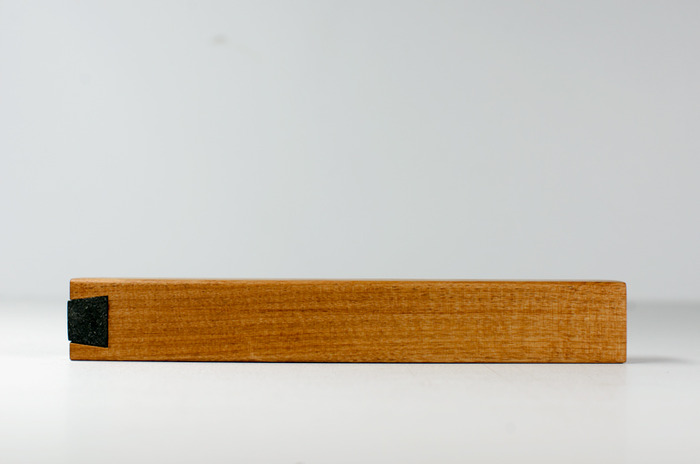 Case in Alder (bio-based sealant with beeswax finish)