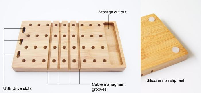 Modo is made with natural bamboo and aircraft grade aluminum