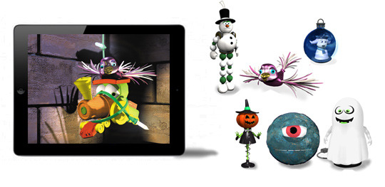 Project Goal:   IPAD storybook APP conversion and  building the rest of the character ornaments.