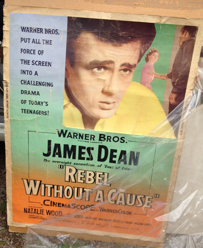 James Dean - Rebel Without a Cause poster
